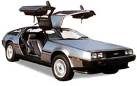 Cheap excuse to use a photo of a DeLorean, innit?