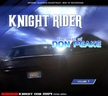 The new Knight Rider soundtrack CD by Don Peake