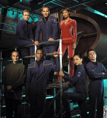 The cast of Enterprise