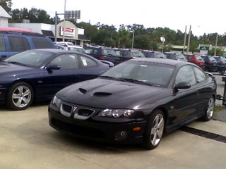 "It's a black '05 with SAP grilles & 18""s"