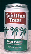 A can of Tahitian Treat