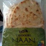 Tasty garlic naan.
