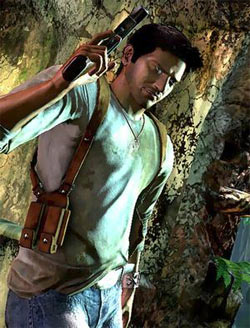 Nathan Drake, star of the Uncharted series