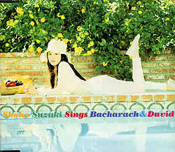 """Shoko Suzuki Sings Bacharach and David"" Album Cover"
