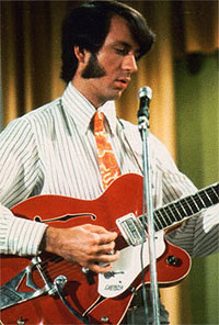 Mike Nesmith with Monkees Gretsch