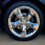 20-in. Five-Spoke Chrome Wheel