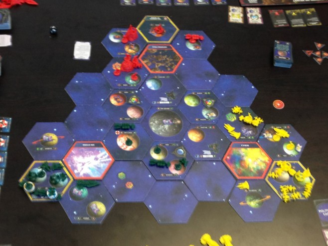 The state of the galaxy at the conclusion of round 2.