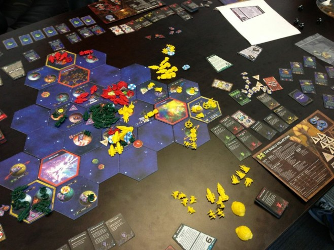 The state of the galaxy at the conclusion of round 7.