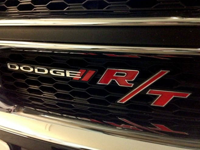 Dodge War Paint and Heritage R/T Badges Installed