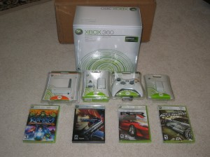 The only items from this bundle that I still own are the wireless adapter and NFS: Most Wanted.