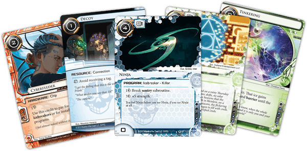 Android Netrunner: Core Runner Cards