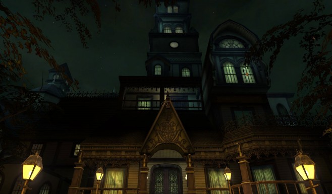 Is it Grout's mansion, or the box cover of The Legacy: Realm of Terror?